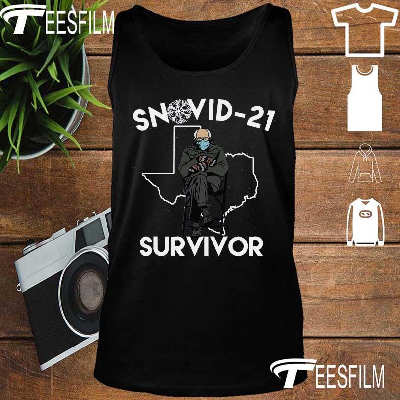 Bernie Sanders mittens Snovid-21 survivor s tank top
