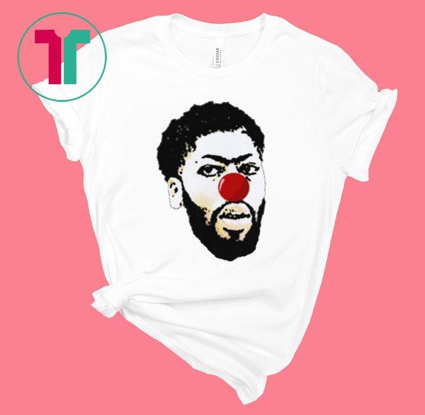 Anthony Davis Clown Tee Shirt