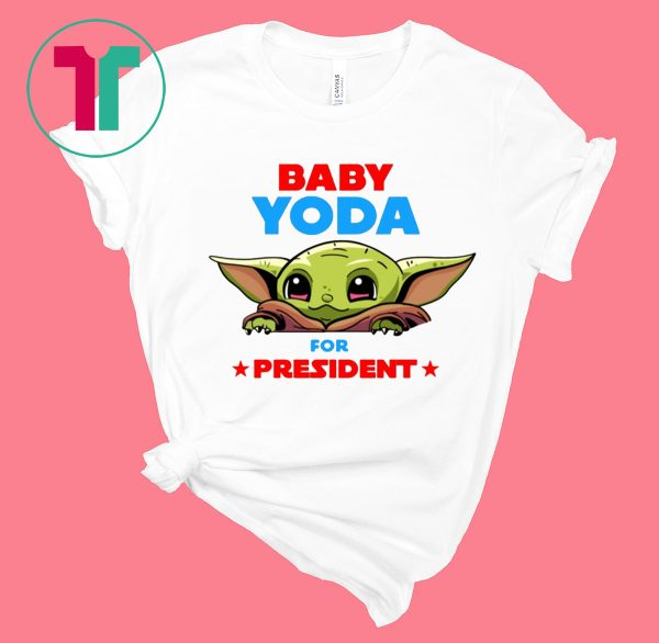 Baby Yoda for President 2020 T-Shirt
