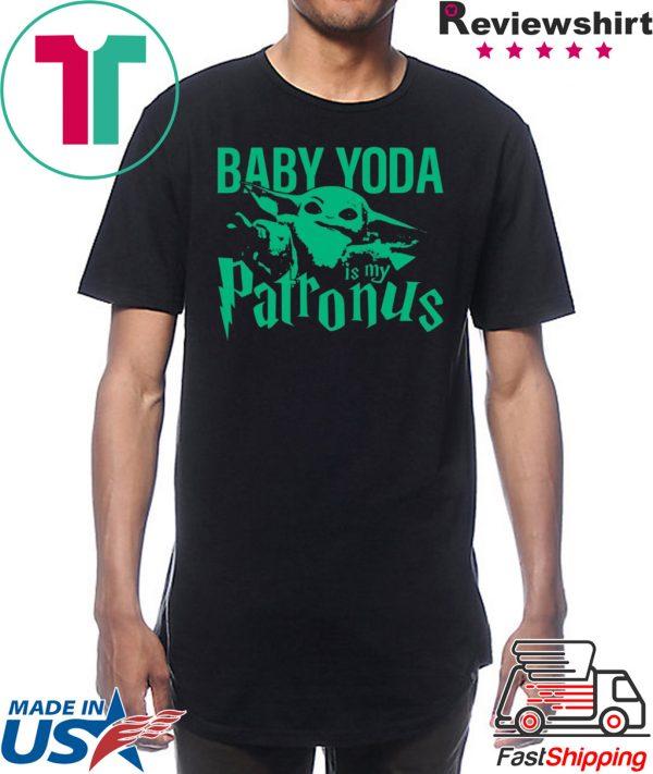 Baby Yoda Is My Patronus Shirt