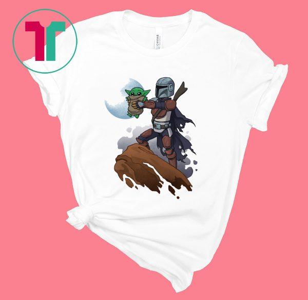 Baby Yoda The Mandalion Tee Shirt