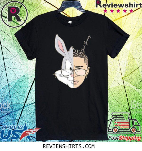 Bad Bunny Rabbit Tee Shirt