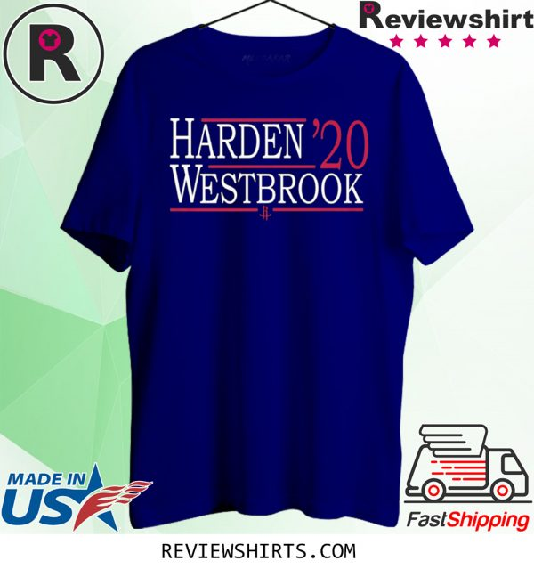 HOUSTON ROCKETS 47 HARDEN WESTBROOK 2020 SHIRTS