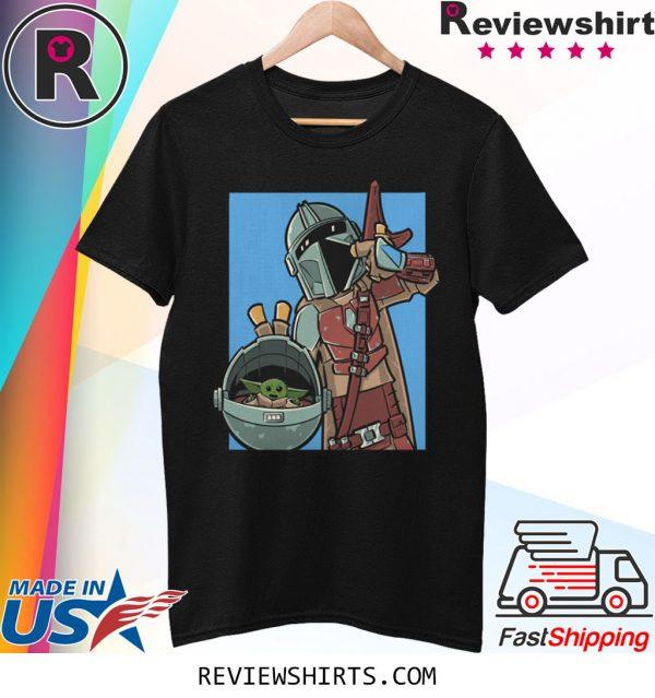 MANDO COMIC STRIP Mandalorian T-Shirt