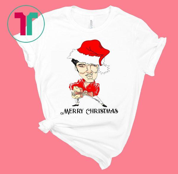 Merry Christmas Elvis Presley T-Shirt