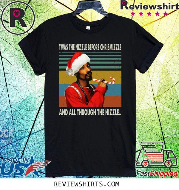 Snoop Dogg Christmas Vintage Black Tee Shirt