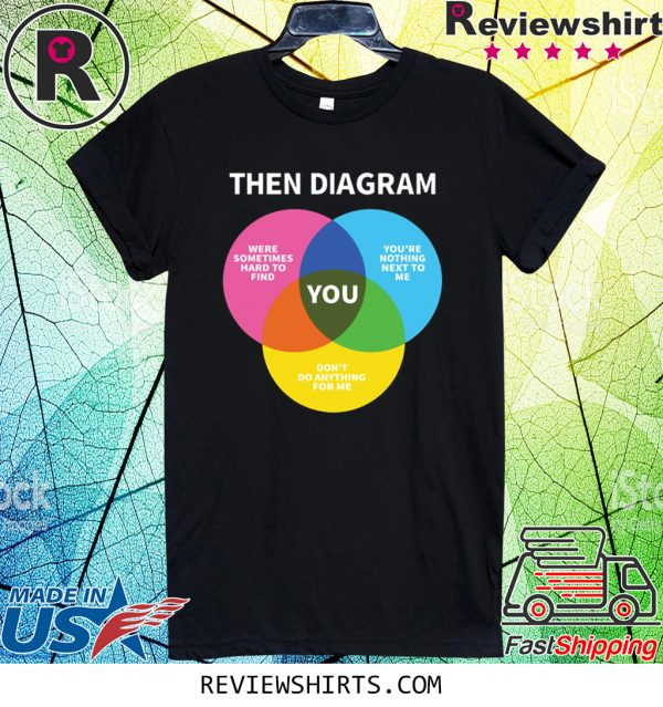 Then Diagram You Tee Shirt