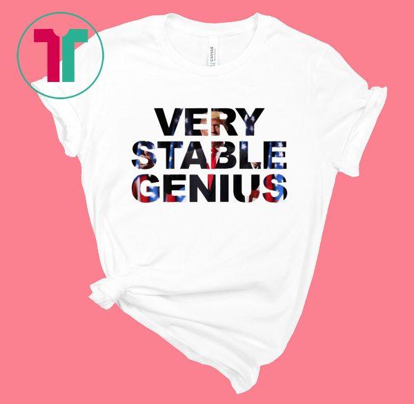 Very Stable Genius 2020 T-Shirt