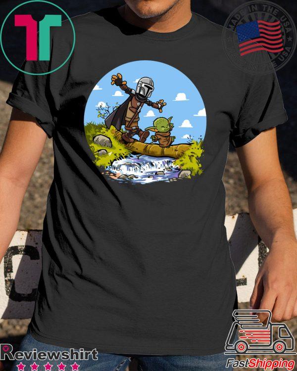 walking baby and mercenary T-Shirt