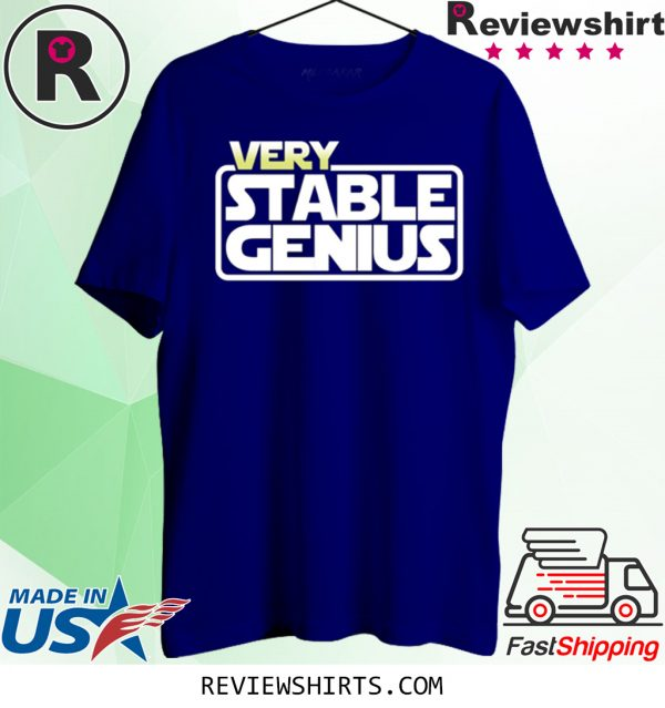 Will Ferrell Very Stable Genius T-Shirt