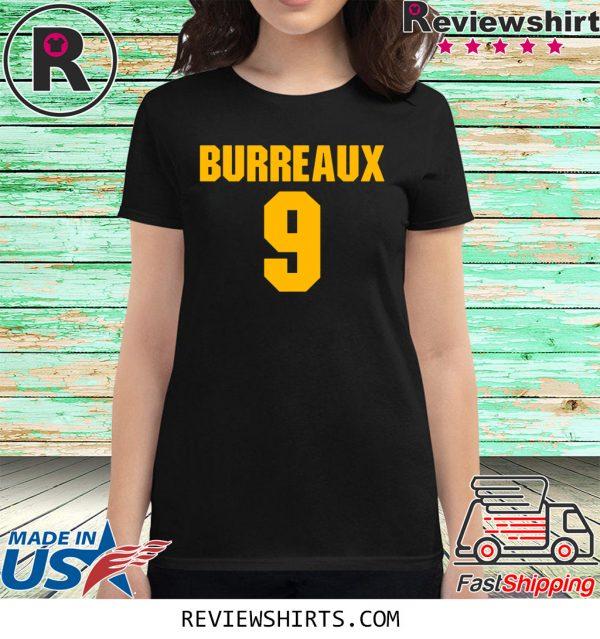 9 Joe Burrow Burreaux Football T-Shirt