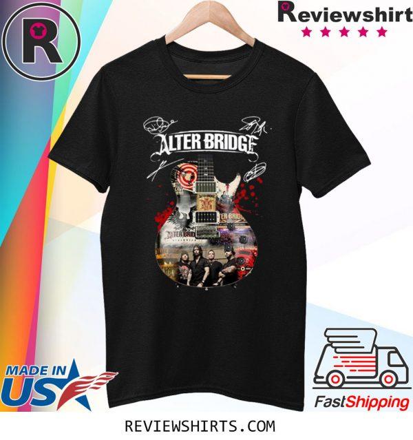 Alter Bridge Guitar Signatures T-Shirt