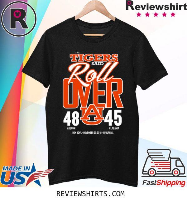 Auburn Tiger Championship Iron Bowl 2019 With Score T-Shirt