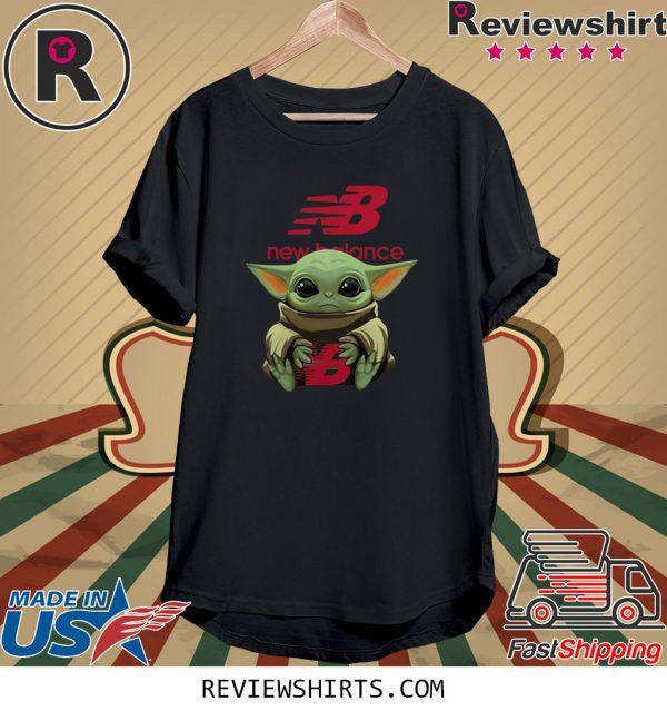 Baby Yoda hug New Balance T-Shirt