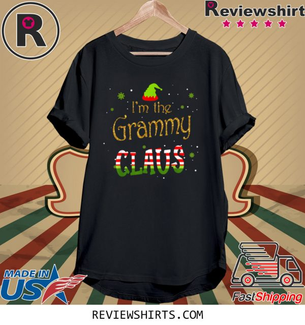 I'm The Grammy Claus Christmas Xmas T-Shirt