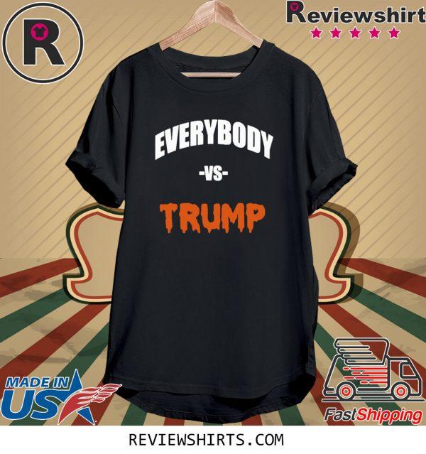 Marshawn Lynch Everybody vs Trump Shirts