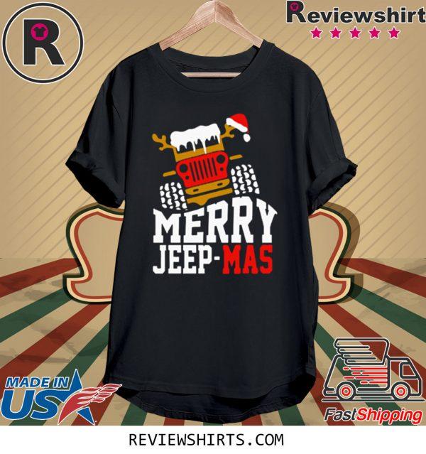Merry Jeep Mas Tee Shirt
