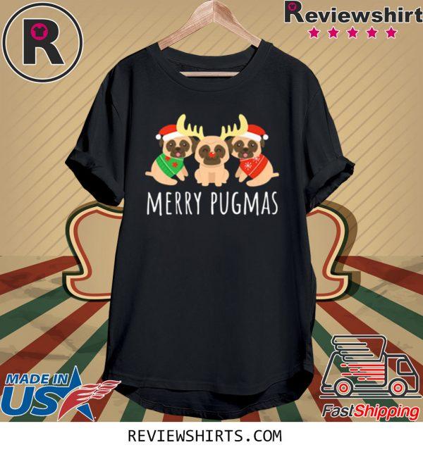 Merry Pugmas Pug Dog Ugly Christmas Shirt