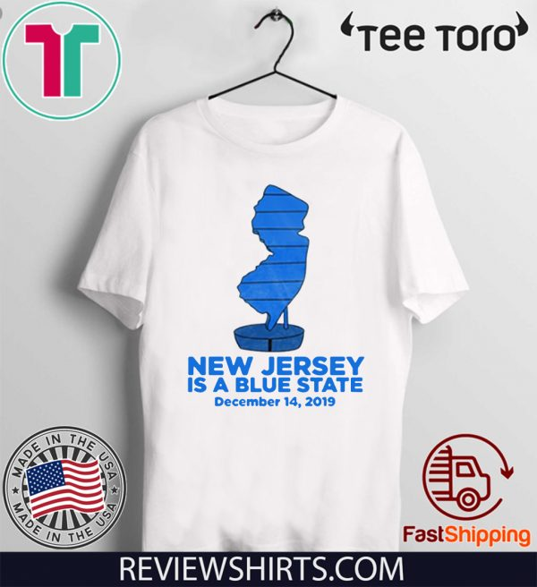 NJ is Blue For T-Shirt