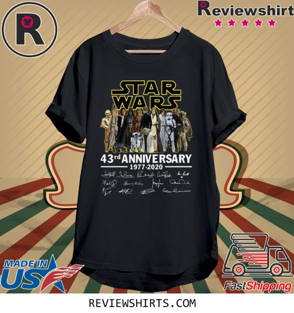 Star Wars 43rd Anniversary Signatures T-Shirt