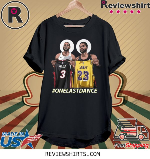 Wade and James One Last Dance T-Shirt