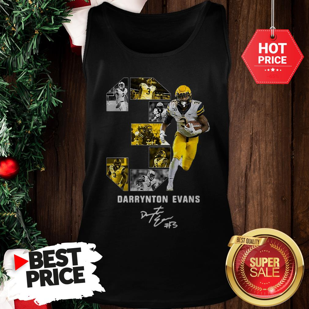 03 Darrynton Evans Signature Appalachian State Mountaineers Tank Top