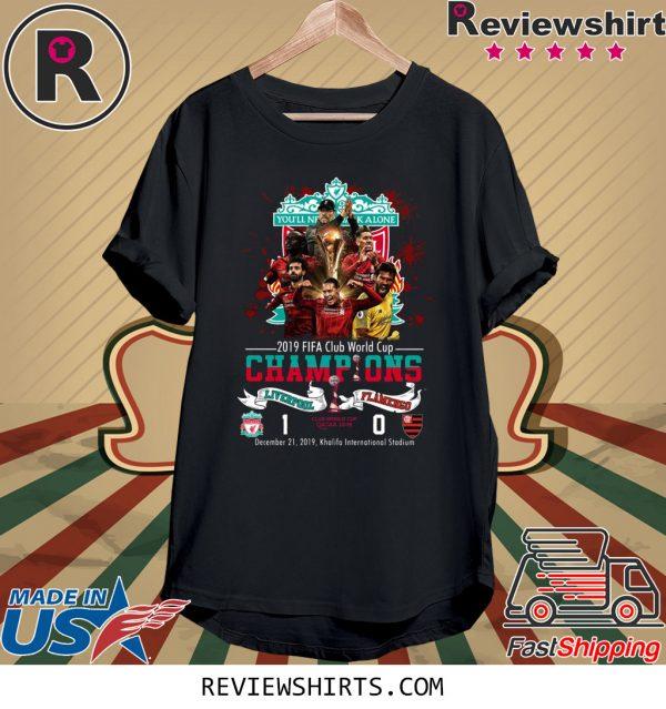 2019 Fifa Club World Cup Champions Liverpool Flamengo T-Shirt