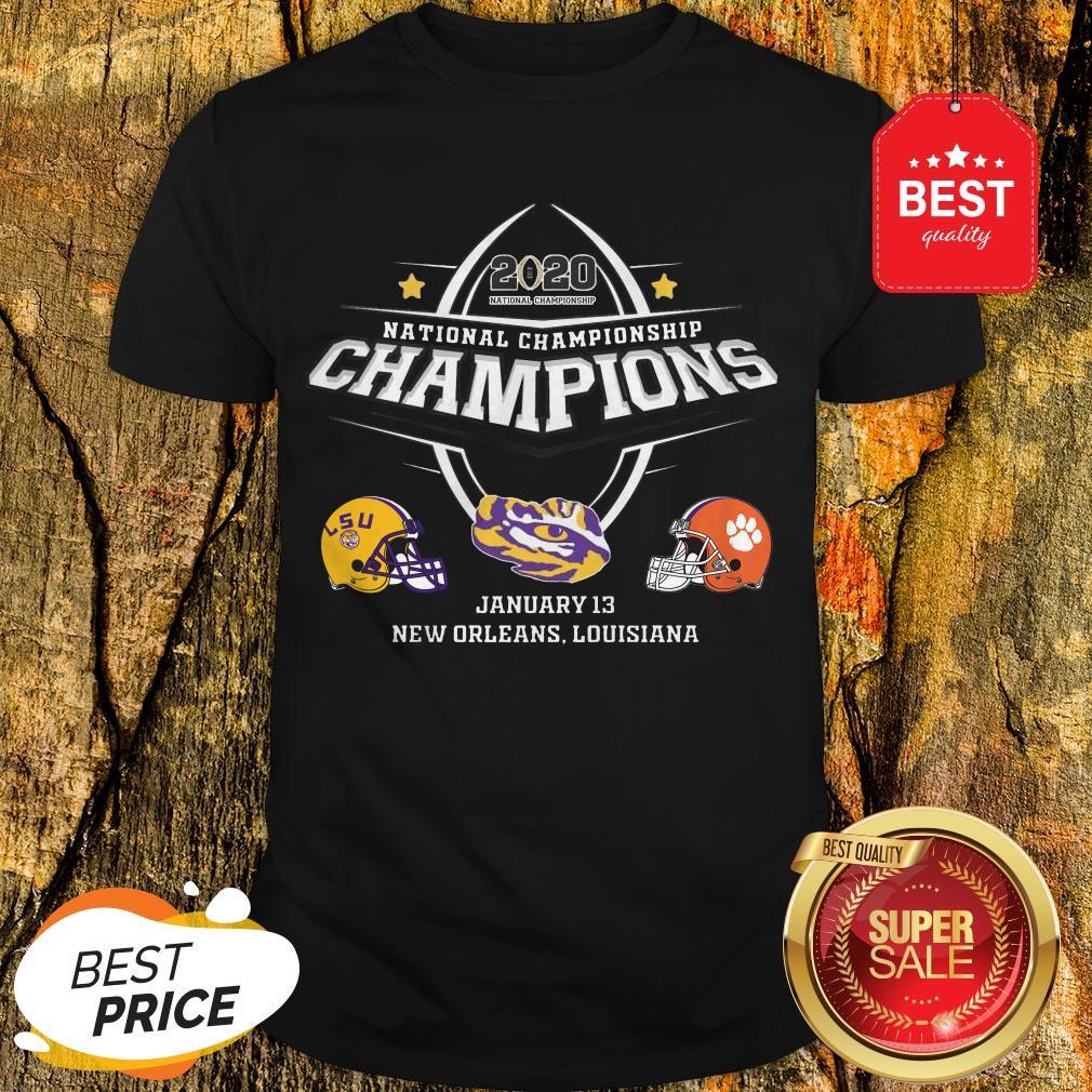 Official LSU 2020 National Championship Shirt