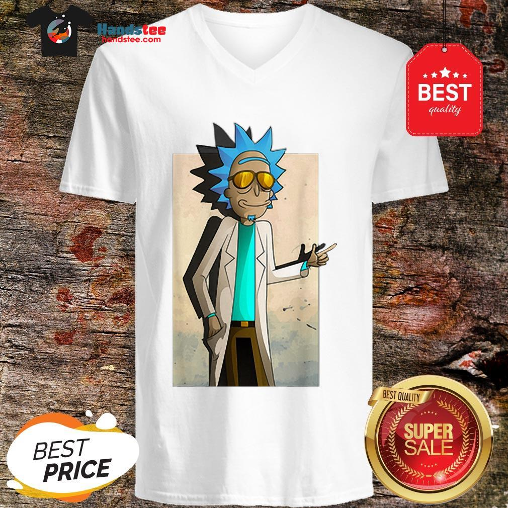 Official Rick And Morty Rick Of Ricklantis V-Neck