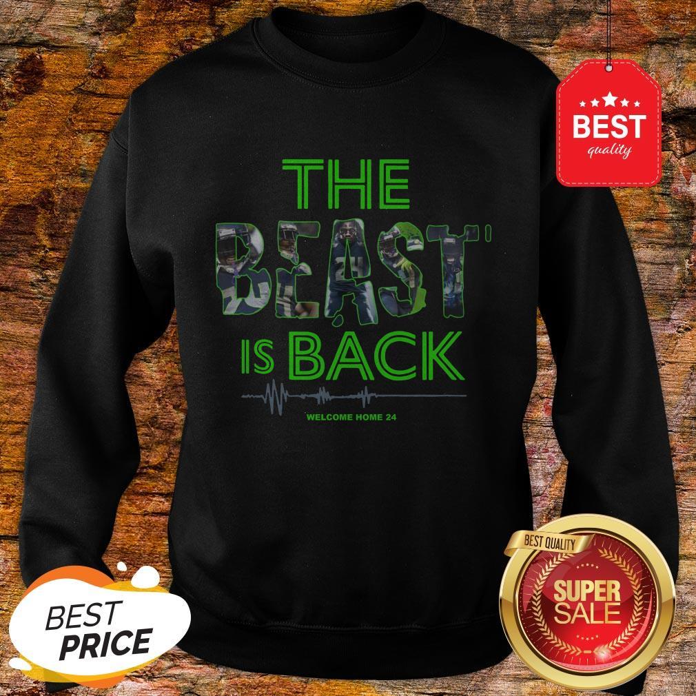 Official Top The Beast Is Back Sweatshirt