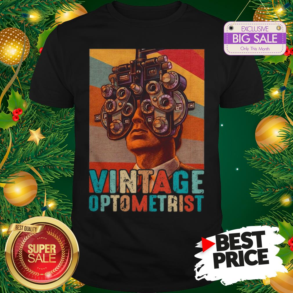 Vintage Optometrist Eye Ophthalmologist Shirt