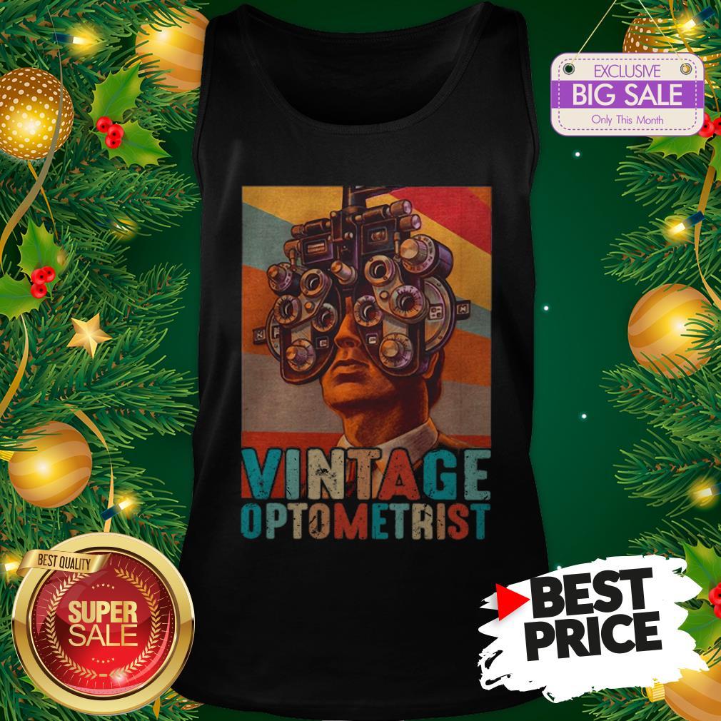 Vintage Optometrist Eye Ophthalmologist Tank Top