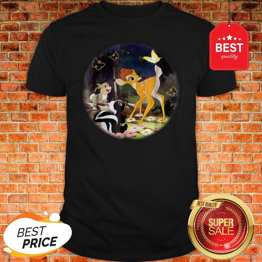 Official Disney Bambi Circle Shirt