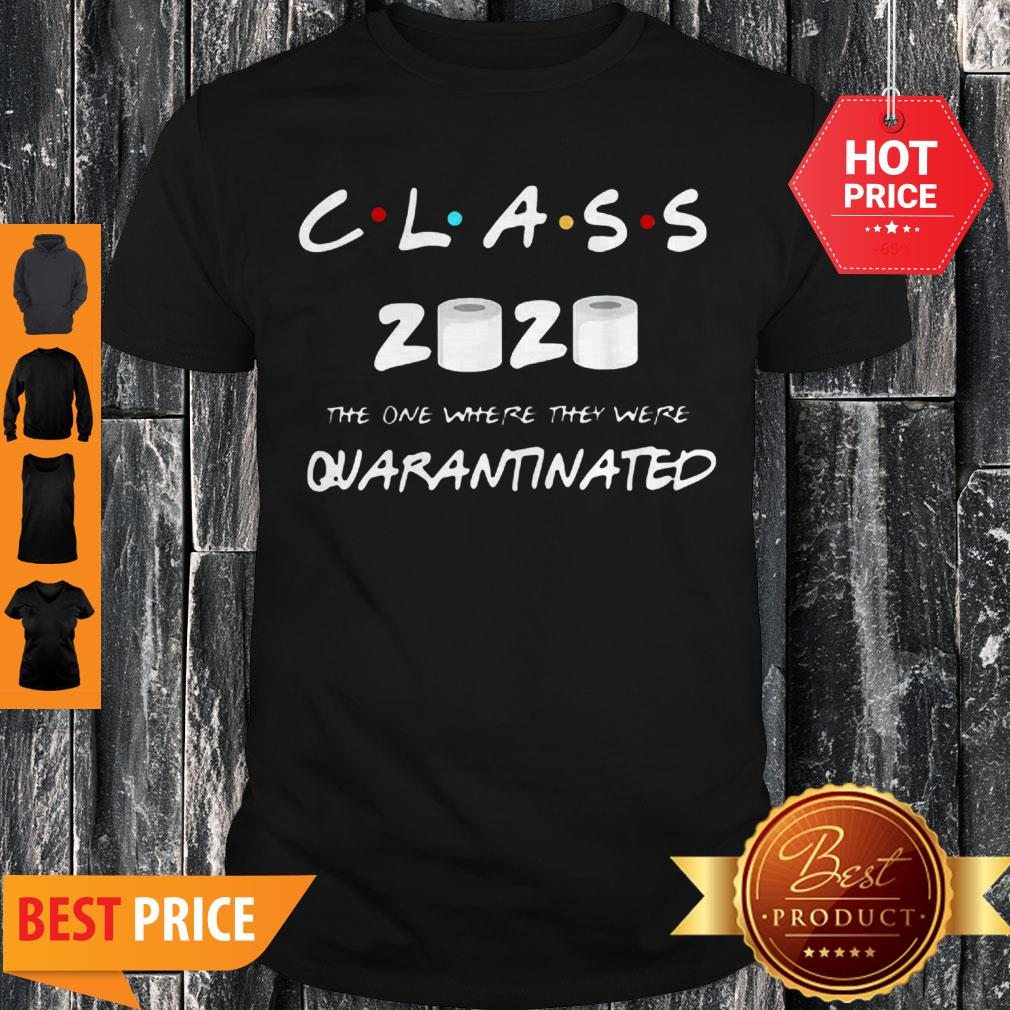 Official Class Of 2020 Quarantine Toilet Paper Shirt