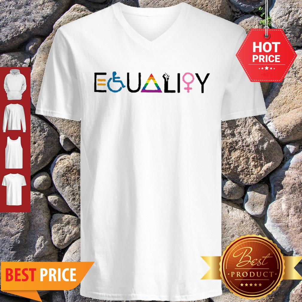 Official Equality Symbol V-Neck