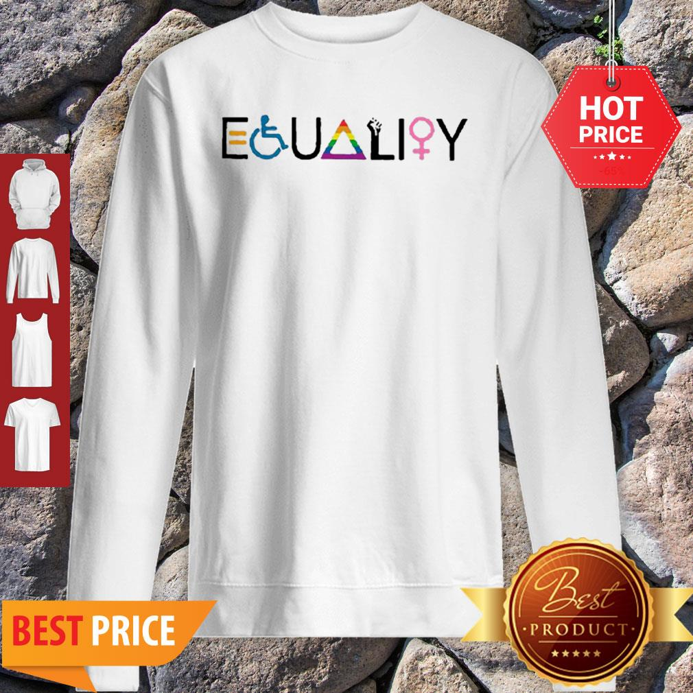 Official Equality Symbol Sweatshirt