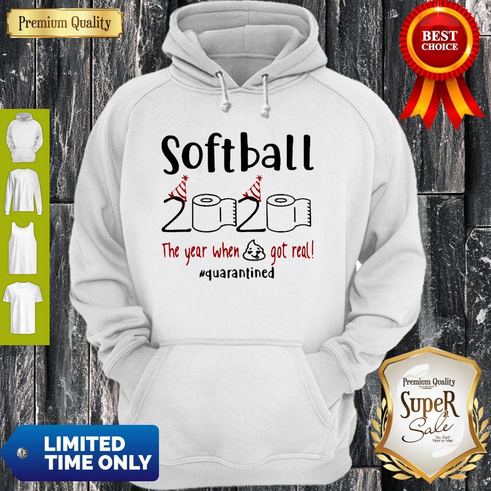 Unisex Hoodie Softball Game Softball Player and Then I Took Up Softball