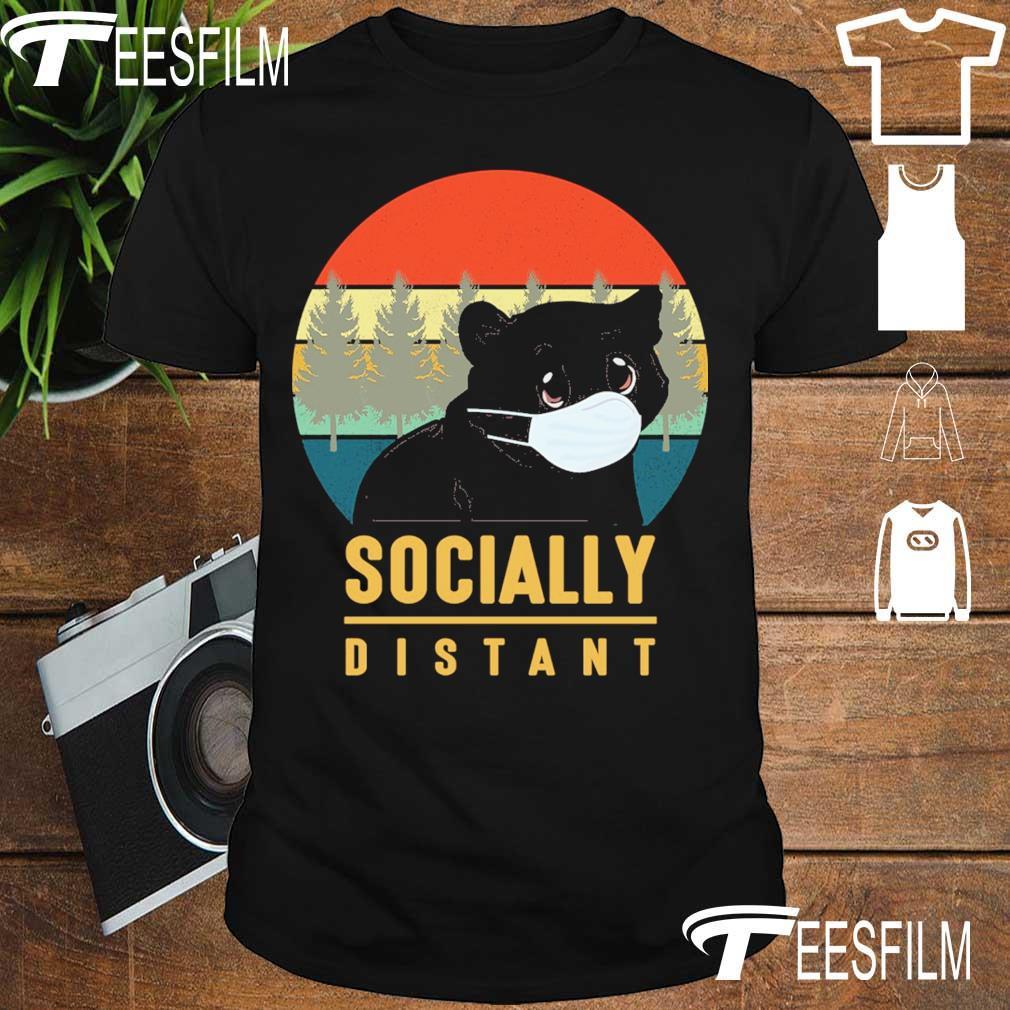 Black Bear Socially distant vintage shirt
