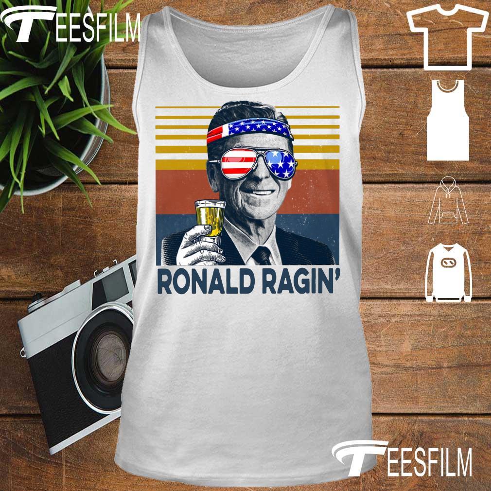 Ronald Ragin drink beer happy the 4th of july vintage s tank top