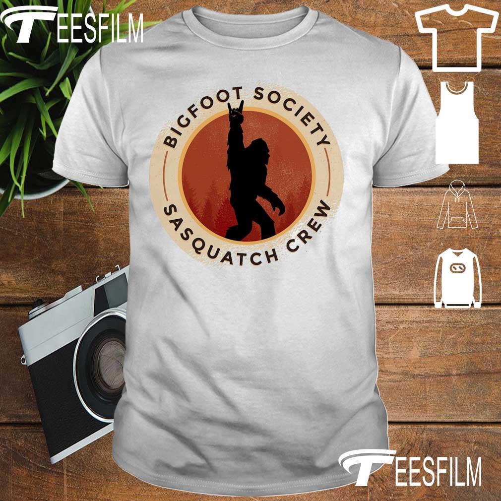 Bigfoot society Sasquatch crew shirt
