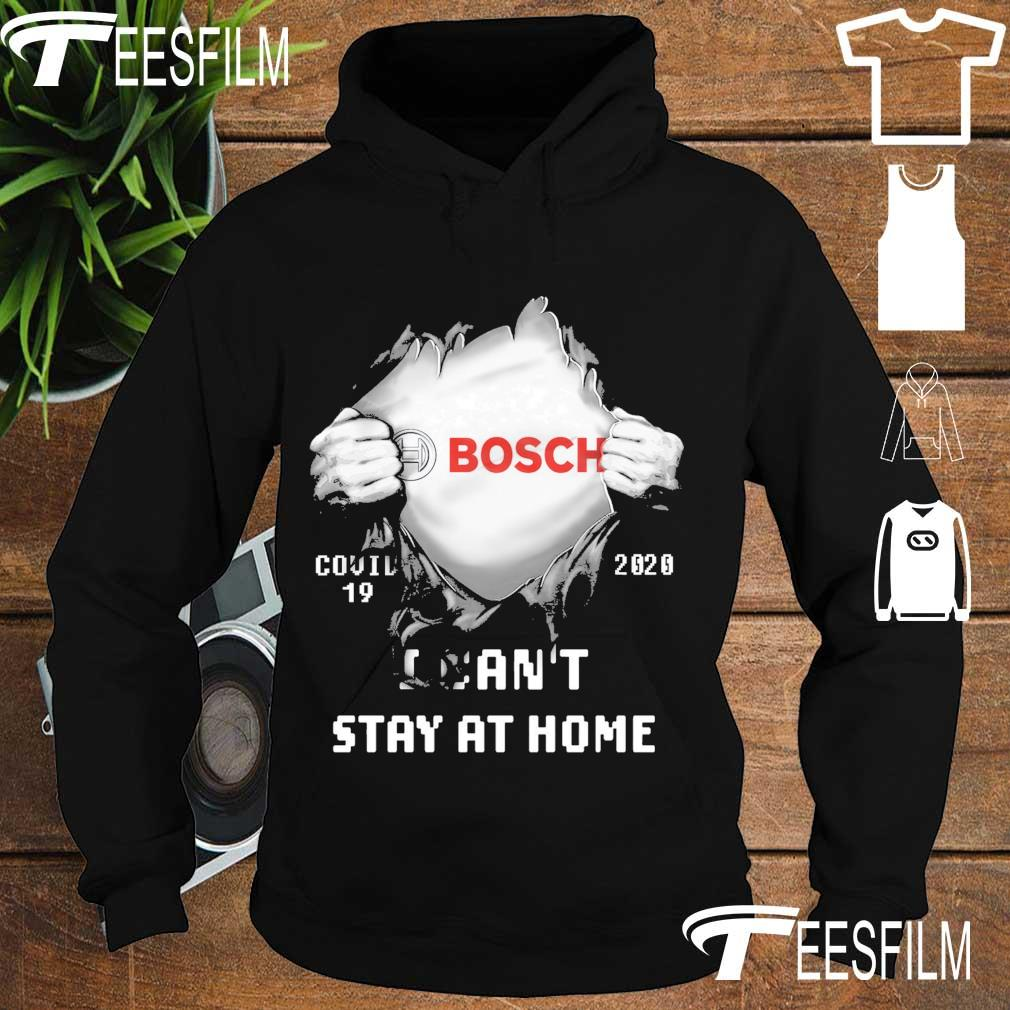 Blood inside Me Bosch Covid 19 2020 I can't stay at home s hoodie
