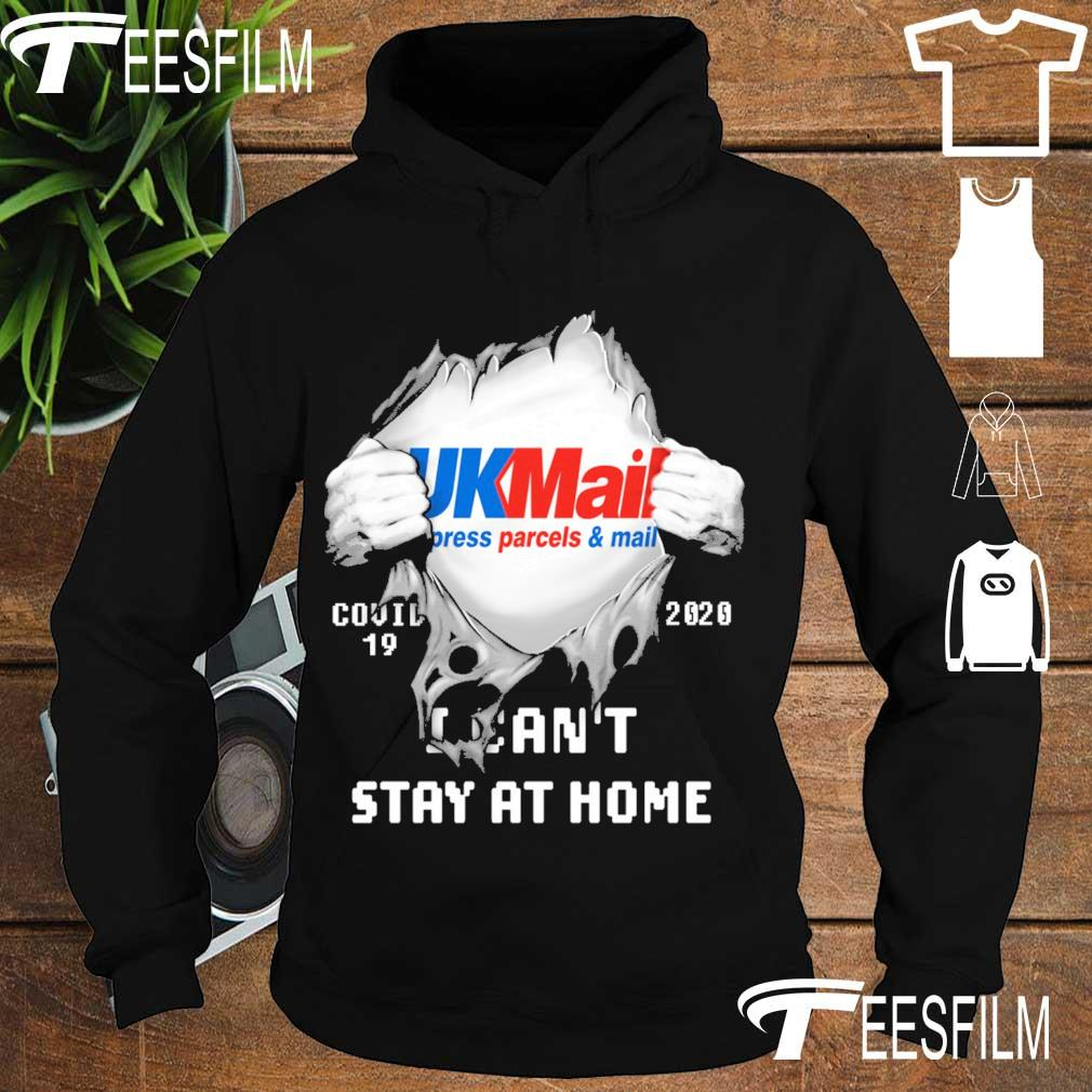 Blood inside Me UkMail press parcel mail Covid 19 2020 I can't stay at home s hoodie