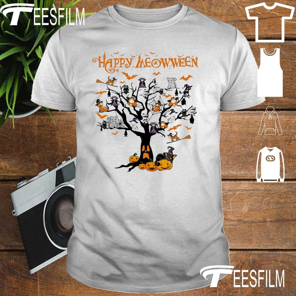 Cats Happy Meowween shirt