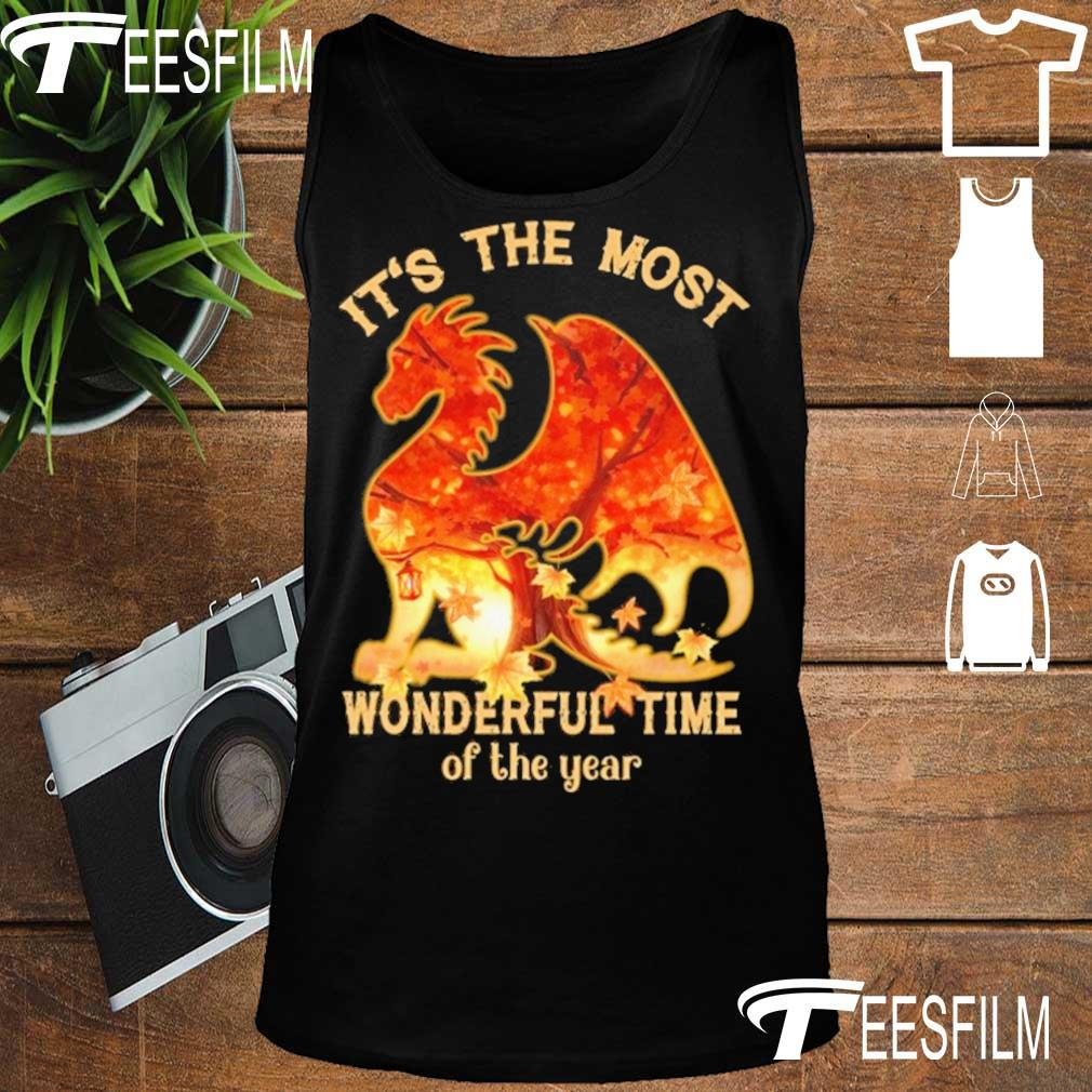 Dragon It's the most Wonderful time of the year s tank top