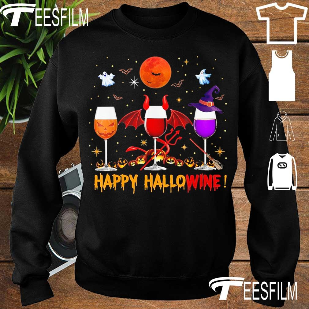 Happy Hallowine s sweater