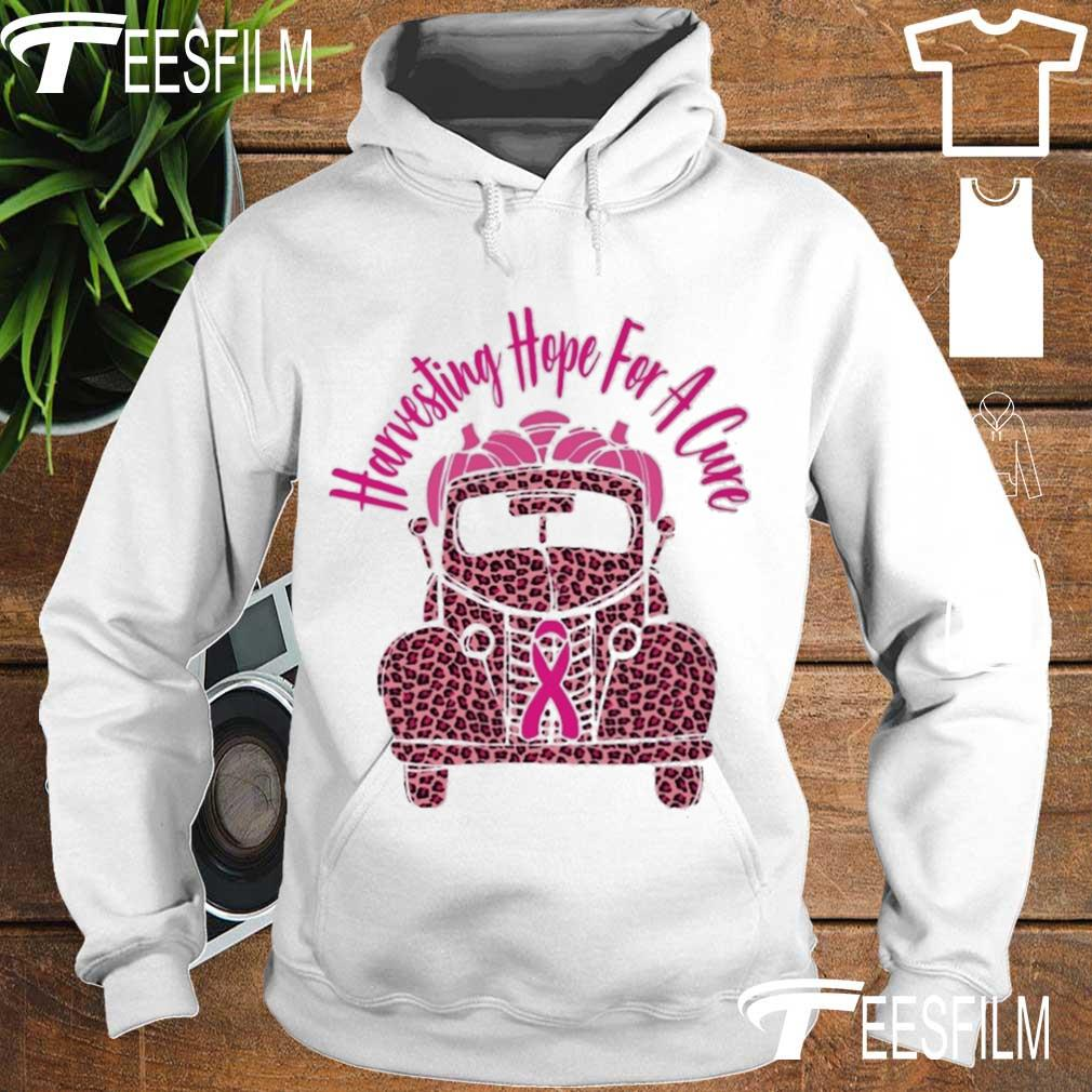 Truck Harvesting hope for a Cure s hoodie