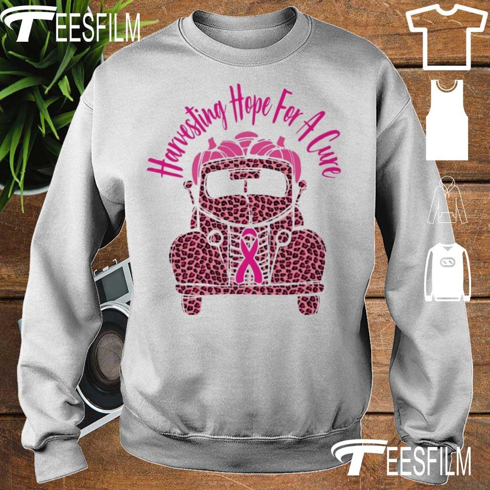 Truck Harvesting hope for a Cure s sweater