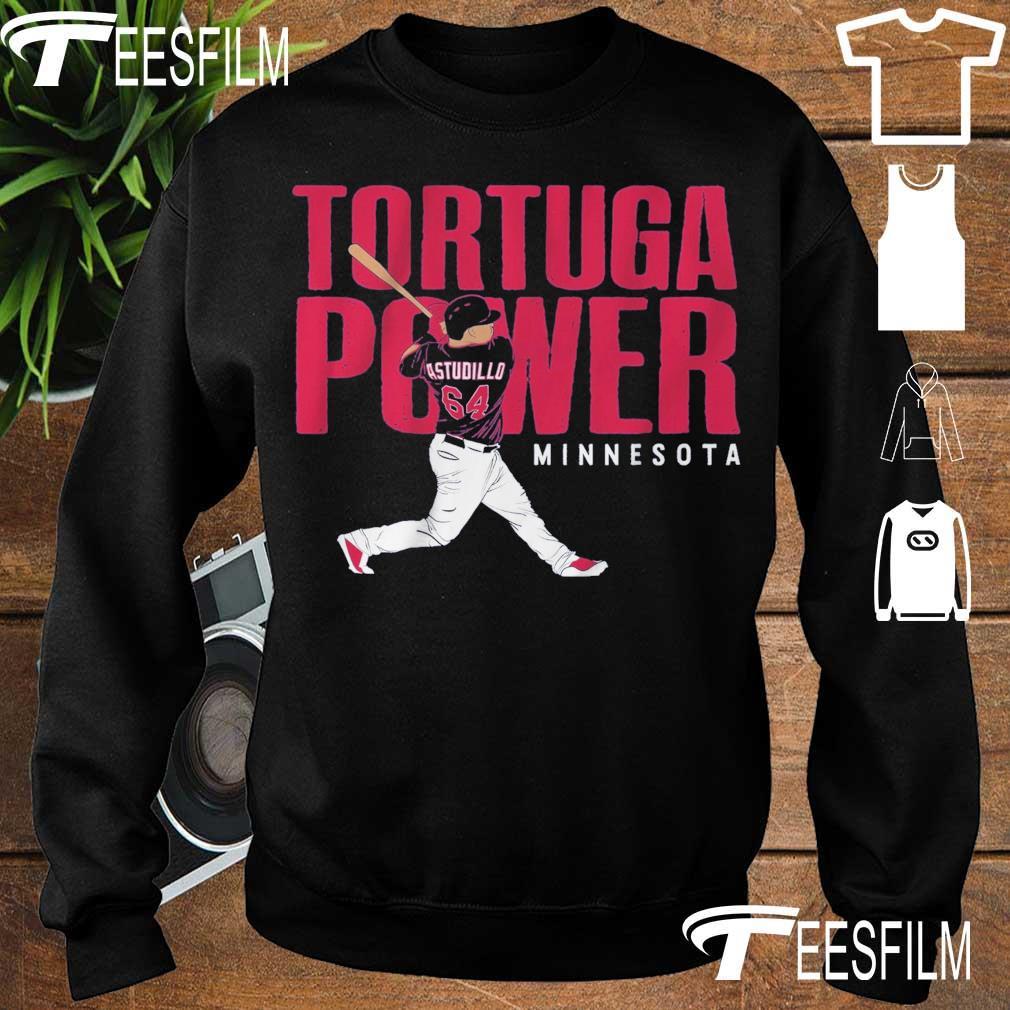Willians Astudillo Tortuga Power Minnesota s sweater