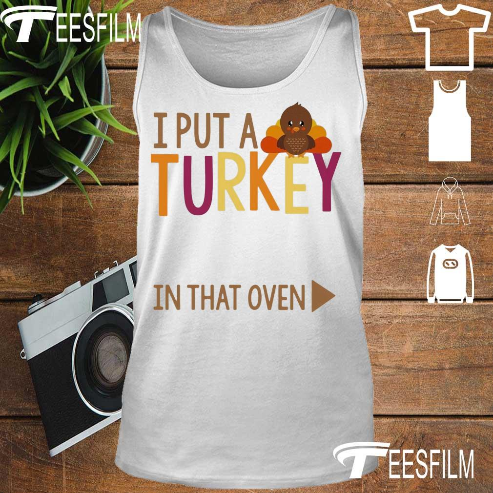 I put a Turkey in that oven s tank top