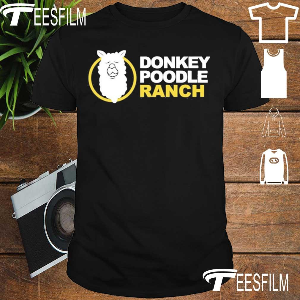 Official Arms Family Homestead Merch Donkey Poodle Ranch Shirt